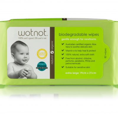 Wotnot Baby Wipes 80pk