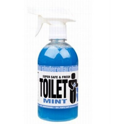 cinderella toilet cleaner