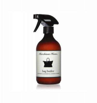 Murchison Hume _ Bag Butler leather cleaner and conditioner