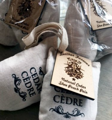 Cedar Shoe Bags Natural Deodoriser buy online