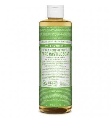 Dr Bronner Pure Castile Liquid Soap Green Tea