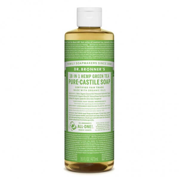 Dr Bronner Pure Castile Liquid Soap Green Tea