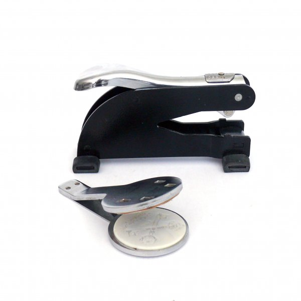 hand held embossing set
