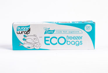 SSugarwrap Eco Freezer Bags Medium 100