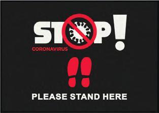COVID-19 Floor Mats Help Stop The Spread